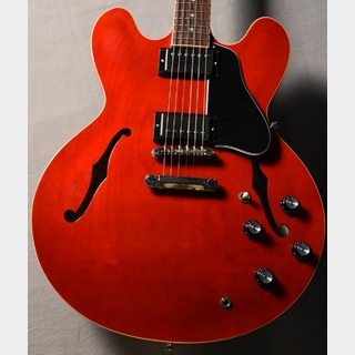 Gibson Memphis ES-335 Dot Gloss Antique Faded Cherry s/n 12768727