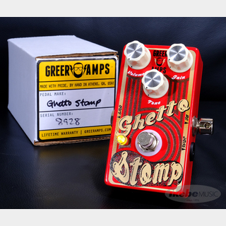 Greer Amps GHETTO STOMP SMALL AMP BREAKUP