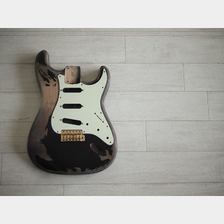 "MJT Stratocaster Body - ""Black 1"""