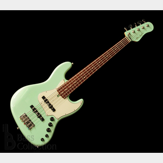Alleva-Coppolo LG5 (Surf Green - Matching Headstock) '19 【USED】