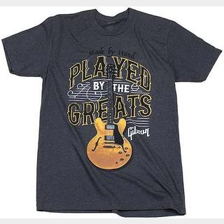 Gibson Played By The Greats Tee (Charcoal) Large GA-PBIMLG