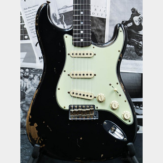 Fender Custom Shop Michael Landau 1968 Stratocaster Relic -Black-