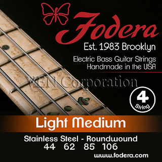 Fodera 4 Strings -44106SS- Light Medium