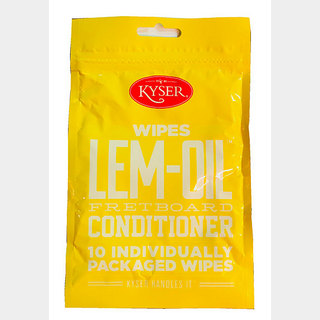 Kyser LEM-OIL FRETBOARD CONDITIONER [K800WIPE LEM-OIL] 10setPACK