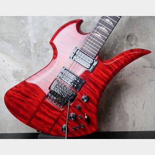 B.C.Rich USA Mockingbird SL / Quilted Maple / Trans Red