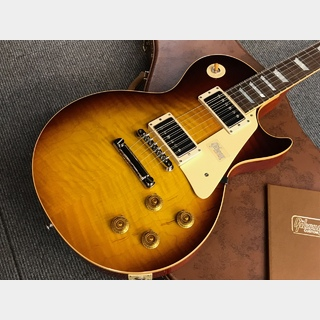 Gibson Custom Shop Historic Collection 1958 Les Paul Standard 2018 Gloss (#881280) Dark Bourbon Fade
