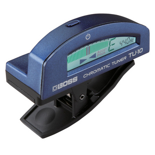 BOSSClip-on Chromatic Tuner TU-10 Blue【池袋店】