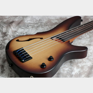Ibanez Bass Work Shop Series SRH505F Natural Browned Burst Flat (NNF)  【御茶ノ水本店】
