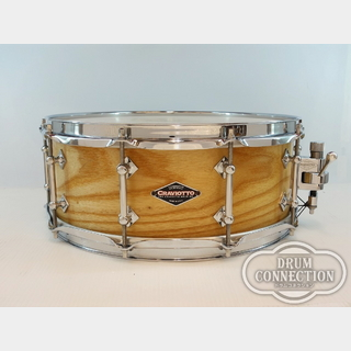 "Craviotto 【美品中古】【Craviotto氏サイン入り個体!】Ash Solid-Shell Snare Drum 14""×5.5""【送料無料】"