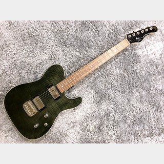G&L Tribute ASAT Deluxe Carved Top Trans Black 【2020年製】
