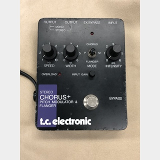 tc electronicSTEREO CHORUS+ PITCH MODULATOR & FLANGER
