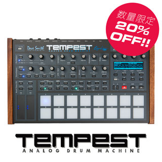 Sequential (Dave Smith instruments)Tempest 【残り僅か!台数限定で20%OFF!】【ローン分割手数料0%(24回迄)】