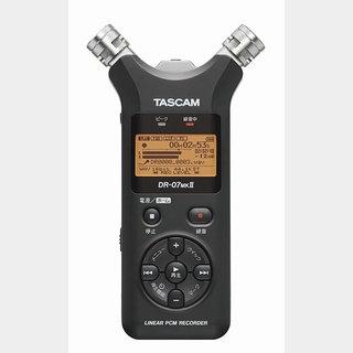 Tascam DR-07MKII VER2 リニアPCMレコーター【WEBSHOP】
