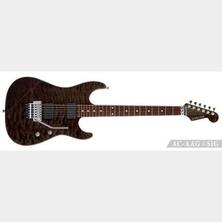 SCHECTER 【祝!35th Anniversary Tour!!】AC-AAG/SIG See-thru Black【清水昭男Signature】受注生産品ご予約受付中!