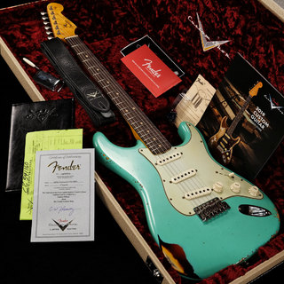 Fender Custom Shop Limited Edition 1963 Stratocaster Heavy Relic Faded Aged Sea Foam Green Over 3CS 【渋谷店】