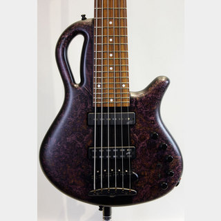 MAYONES 【現地選定木材採用】Caledonius 6st 4A Burl Maple Top(T-DPUR-M/BLK-M)