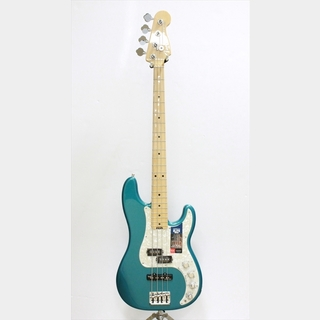 Fender 【OUTLET】American Elite Precision Bass, Maple Fingerboard, Ocean Turquoise