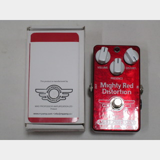 MAD PROFESSOR Mighty Red Distortion ハンドワイヤード