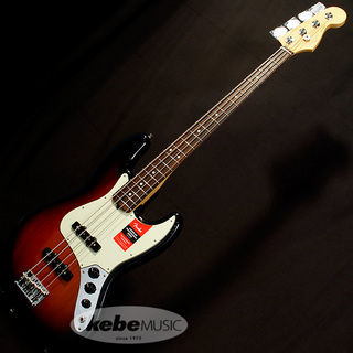 Fender USA American Professional Jazz Bass (3-Color Sunburst/Rosewood) [Made In USA]