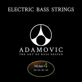AdamovicAdamovic Bass string set 4st [Nickel]