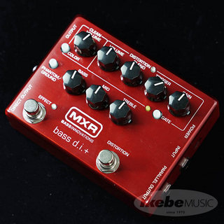"MXR IKEBE ORIGINAL M80 BASS D.I.+ ""Brushed Red"" 【10月下旬入荷予定】"