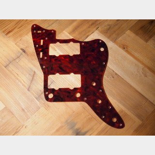 WD Custom Parts 1Ply Tortoise Celluloid Pickguard For Jazzmaster