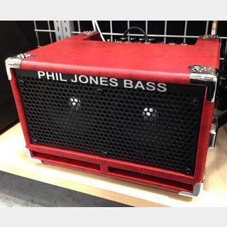 Phil Jones Bass Bass CUB II Red 【展示入替特価】