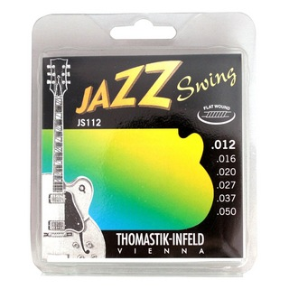 Thomastik-InfeldJS112 JAZZ SWING Flat Wound フラットワウンドギター弦