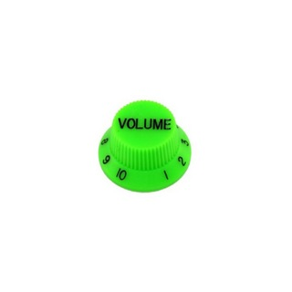 ALLPARTS KNOB 5037 Set of 2 Green Volume Knobs コントロールノブ