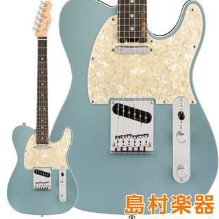 Fender American Elite Telecaster Ebony Fingerboard Satin Ice Blue Metallic エレキギター