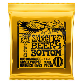 ERNIE BALL ERNIE BALL 2216 Skinny Top Beefy Bottom Slinky 10-54 Gauge エレキギター弦 ×3セット