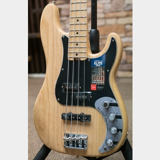 Fender American Elite Precision Bass® Ash, Maple Fingerboard, Natural