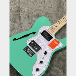 Fender (フェンダー)Made in Japan Traditional 70s Telecaster Thinline SFG(サーフグリーン)【送料無料】
