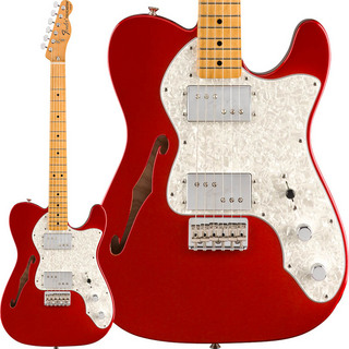 Fender Mexico Vintera '70s Telecaster Thinline (Candy Apple Red) [Made In Mexico]