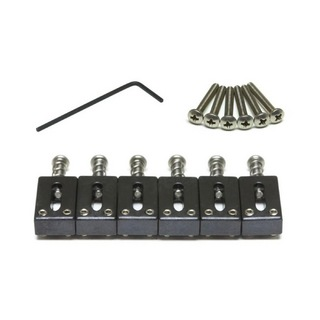 "Graph Tech PS-8000-F0 STRING SAVER ORIGINALS FOR STRAT & TELE 2 3/16"" SPACING ブリッジサドル"