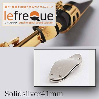 LefreQue Solid Silver 41mm