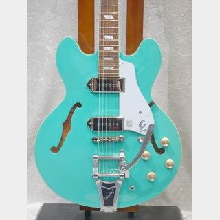 Epiphone Limited Edition Casino w/Bigsby Turquoise【年末大感謝祭2019!】