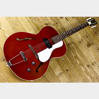 Crews Maniac Sound CP-01 Thin Body Full Acoustic Guitar Vintage Cherry