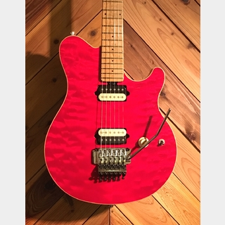 MUSIC MAN AXIS TRANS RED QUILTEDTOP '97
