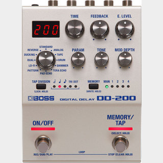 BOSS DD-200 Digital Delay 【即日発送可】