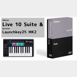 AbletonLive 10 Suite & Launchkey 25 MK2スペシャルセット