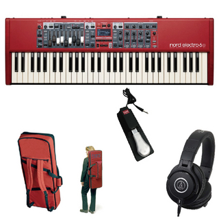CLAVIA Nord Electro 6D 61◆【期間限定キャンペーン !!】【ローン分割手数料0%(24回迄)】