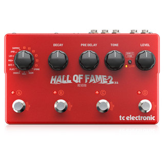 tc electronic Hall of Fame 2 X4 Reverb リバーブ ギターエフェクター